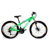 Bicicleta 26 Freeride Vikingx 21 Marchas Shimano Freio Disco