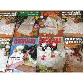 7 Revistas Tejidos Crochet Ganchillo Muestras Y Motivos Pale