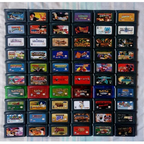 Cartuchos Game Boy Advance Gba Donkey Kong Mario Zelda Kirby