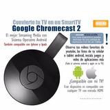 Google Cromecast 2º Generacion P/ Netflix, Envio Gratis .!!!