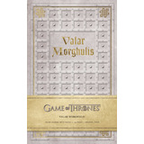 Game Of Thrones: Valar Morghulis, Libreta Diario Original