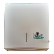 Dispenser Pared Toalla Intercalada Plástico Toallero Baño