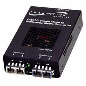 Convertidor De Medios De Fibra Optica Multimodo A Monomodo