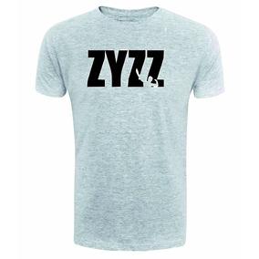 Camiseta Camisa Zyzz Cinza Musculaco Maromba Fitness