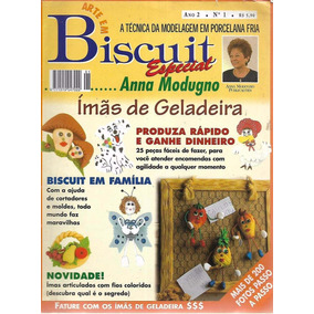 Artesanato - Arte Em Biscuit Anna Modugno Ano 2 Nº 1