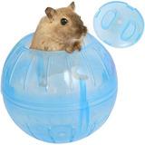 Esfera Bola De Ejercicio Para Mascota Hamster Azul Q1025