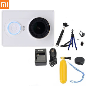 Camera Filmadora Xiaomi Yi 16mp Wifi 1080p Monopod