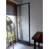 2 Hojas De Puertas Ventanales De Balcon.. 2,10 X 64 Cm Aprox