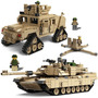 Lego Compativel Tanque Ou Gipe Soldado Coleção 1463 Pcs