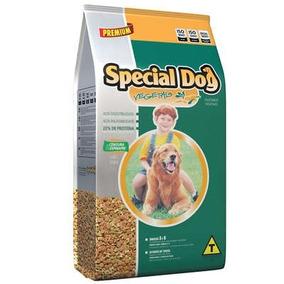 Ração Special Dog Vegetais Cenoura E Espinafre Cães 15kg