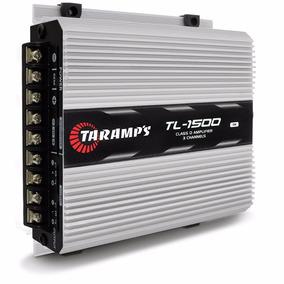 Modulo Taramps 1500 390w Rms Tl1500 3 Canais Amplificador