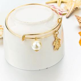 Bracelete Elegante Banhado A Ouro Lindo - Promoção