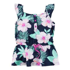 Ropa Blusa Niñas Estampado Camisas De Flores - Infantil 5 R: