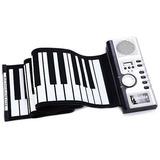 Teclado Piano Flexibl 61 Teclas Plegable Audifonos Midi 2018