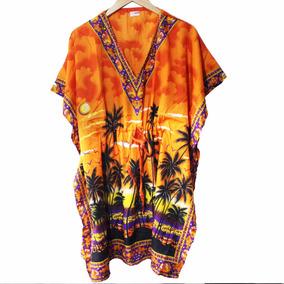Roupas Femininas Vestido Bata Etnico Boho Chic Hippie
