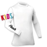 Remera Térmica Flash Manga Larga Para Niños