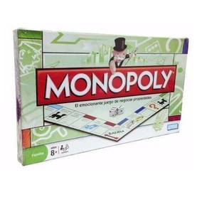 Juego Mesa Monopoly Negociar Propiedades Jugueteria Aplausos