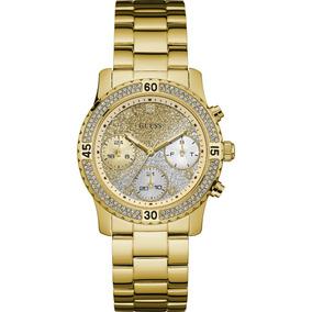 Relógio Feminino Guess Two Tone, Dourado E Prateado W15072l3 ... 4c5133ccb7
