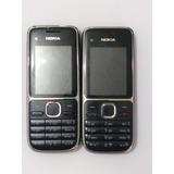 Nokia C2-01 , 3g, 3.2mp, Fm, Mp3 - Usado + Barato Envio Já