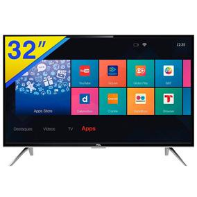 Smart Tv Led 32 Tcl Hdtv Com Conversor E Wifi - L32s4900s