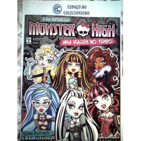 Álbum + Lote 150 Figurinhas Diferentes Monster High 2015