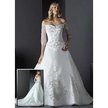 Vestido De Noiva 36 By Dere Kiang - Pronta Entrega - Vn00030
