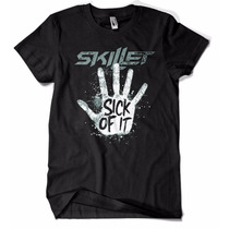 Camiseta Camisa Skillet Banda Rock