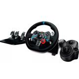 Kit Gamer Logitech Timon G29 + Palanca Shifter Ps3 Ps4 Pc