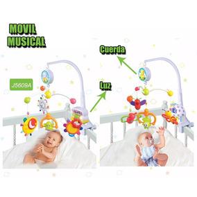 Móvil Cunero Musical Con Luz Y Musica Infantoys A Cuerda