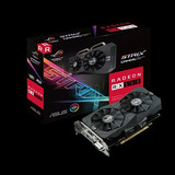 Tarjeta De Video Asus Rog Strix Amd Radeon Rx560 Gaming, 4gb