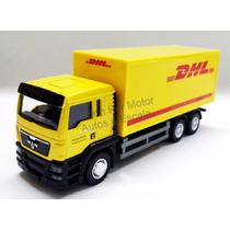 1:64 Camion Man Tgs Con Caja Seca Dhl Rmz City Torton