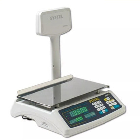 Balanza Digital Systel Croma 30 Kg Con Bateria Pto Impresor