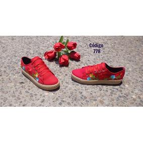 Tenis/calzado/tennis Bordados Primavera Moda