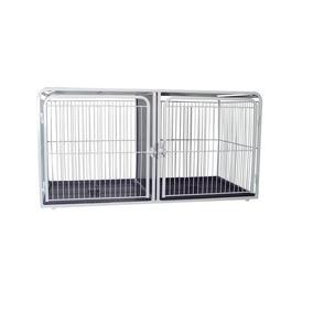Canil Gaiola Para Pet Shop Cães E Gatos 2 Lugares Superior