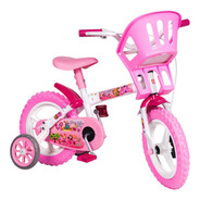 Bicicleta Infantil Aro 12 Princesinhas Rosa - Styll