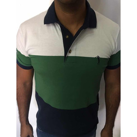 68ac9f56deb56 Camisa Polo Bolso Listrada - Pólos Manga Curta Masculinas no Mercado ...