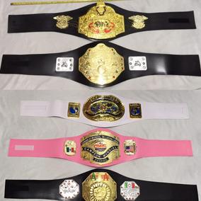 Cml Aaa Wwe Cinturones Campeonatos De Lucha Para Niñ@s
