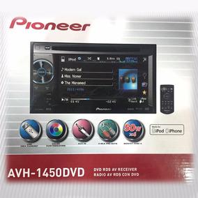 Reproductor Pantalla Dvd Pioneer Avh - 1450 Dvd