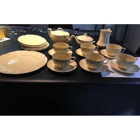 Juego De Té Johnson Bros. England Porcelana Inglesa Antigua