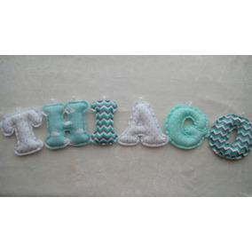 Nombre En Tela