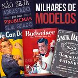 Placas Decorativas Vintage Mdf Retro Cervejas Bar Frases