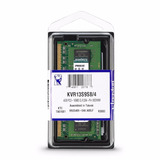 Memoria Ram Kingston Kvr13s9s8/4 Ddr3 4gb Laptop