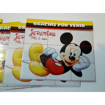 Souvenirs Rompecabezas Iman Mickey