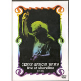 Dvd Jerry Garcia Band - Live At Shoreline - 9/1/90 - Novo***