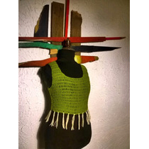 Top Crochet 100 %artesanal Boho, Diseños De Autor...