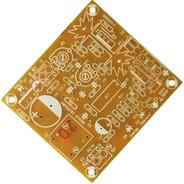 Placa P/ Montar Controle De Cooler - Fan Control - Fenolite