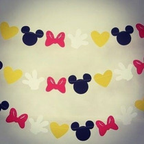 Banderín / Guirnalda · Motivo · Mickey Mouse · Minnie