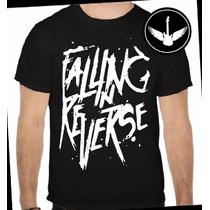 Camiseta Falling In Reverse Post-hardcore Rock Ou Babylook
