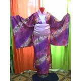Disfraz Kimono De Geisha Adulto