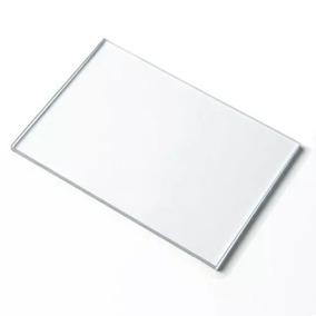 Chapa Policarbonato Compacto Cristal/incolor 1mm 1,22x2,44m